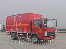 Sinotruk Howo ZZ5047XRYF341CE145 flammable liquid transport van truck