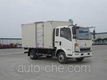 豪沃牌ZZ5047XXYC3313E143型厢式运输车