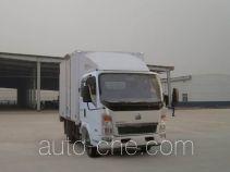 Sinotruk Howo ZZ5047XXYD3413D145 box van truck