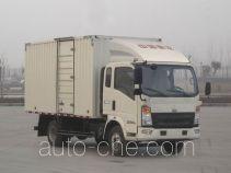 Sinotruk Howo ZZ5047XXYF341BD145 box van truck