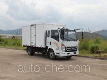 豪曼牌ZZ5048XXYE17EB0型厢式运输车
