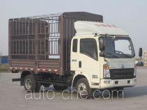 豪沃牌ZZ5067CCYF341BD165型仓栅式运输车