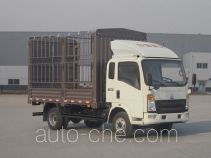 豪沃牌ZZ5067CCYF341CD165型仓栅式运输车
