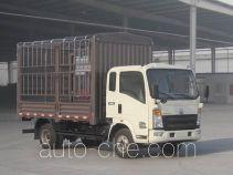 豪沃牌ZZ5067CCYF341CD1Y65型仓栅式运输车