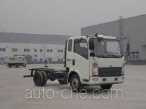 豪沃牌ZZ5067XXYG451CE160型厢式运输车底盘