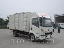 豪沃牌ZZ5077XXYB3614Z1BEV型纯电动厢式运输车