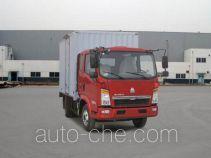 Sinotruk Howo ZZ5077XXYD3414D174 box van truck