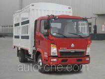 豪沃牌ZZ5087CCYD3414D183型仓栅式运输车