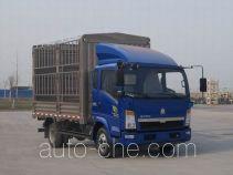 豪沃牌ZZ5087CCYD3614D180型仓栅式运输车