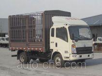 豪沃牌ZZ5087CCYF381CD183型仓栅式运输车