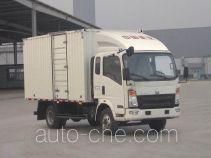 Sinotruk Howo ZZ5087XXYF341CD183 box van truck
