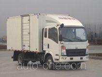 Sinotruk Howo ZZ5087XXYF381CD183 box van truck