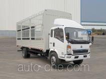 豪沃牌ZZ5107CCYD3415D1型仓栅式运输车