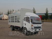 豪沃牌ZZ5107CCYD3815D1型仓栅式运输车