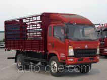 豪沃牌ZZ5107CCYG381CD1型仓栅式运输车