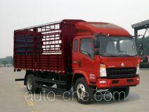 豪沃牌ZZ5107CCYG421CD1型仓栅式运输车