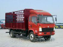豪沃牌ZZ5107CCYG451CD1型仓栅式运输车
