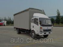 Sinotruk Howo ZZ5107CPYD3415D1 soft top box van truck