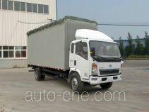 Sinotruk Howo ZZ5107CPYD3615D1 soft top box van truck
