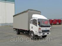 Sinotruk Howo ZZ5107CPYD3815D1 soft top box van truck