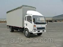 Sinotruk Howo ZZ5107CPYD4215D1 soft top box van truck