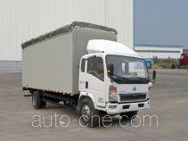 Sinotruk Howo ZZ5107CPYD4515D1 soft top box van truck