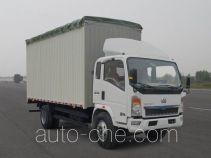 Sinotruk Howo ZZ5107CPYG3615C1 soft top box van truck