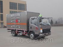 Sinotruk Howo ZZ5107XRYG421CE1 flammable liquid transport van truck
