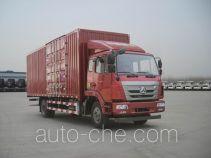 豪瀚牌ZZ5125XXYG5113E1型厢式运输车
