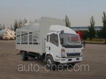 豪沃牌ZZ5127CCYD3815D1型仓栅式运输车