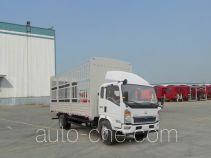 豪沃牌ZZ5127CCYD4215D1型仓栅式运输车