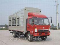 豪沃牌ZZ5127CCYD4215D120型仓栅式运输车