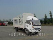 豪沃牌ZZ5127CCYD4515D1型仓栅式运输车
