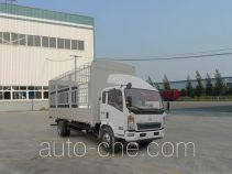 豪沃牌ZZ5127CCYD4715D1型仓栅式运输车