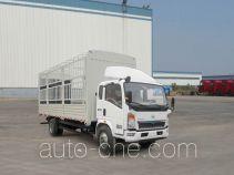豪沃牌ZZ5127CCYD5215D1型仓栅式运输车