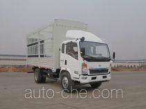 豪沃牌ZZ5127CCYG3615D1型仓栅式运输车