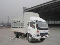 豪沃牌ZZ5127CCYG3815D1型仓栅式运输车