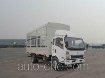 豪沃牌ZZ5127CCYG4215D1型仓栅式运输车
