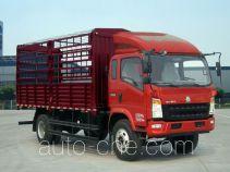 豪沃牌ZZ5127CCYG421CD1型仓栅式运输车