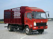 豪沃牌ZZ5127CCYG451CD1型仓栅式运输车