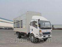 豪沃牌ZZ5127CCYG4715D1型仓栅式运输车