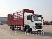 豪沃牌ZZ5127CCYG501GD1型仓栅式运输车
