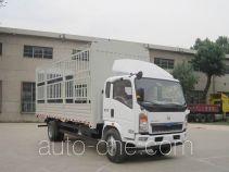 豪沃牌ZZ5127CCYG5215D1型仓栅式运输车