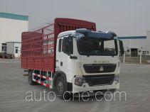 豪沃牌ZZ5127CCYK501GE1型仓栅式运输车