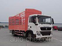 豪沃牌ZZ5127CCYK501GE1B型仓栅式运输车