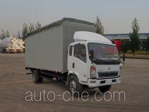 Sinotruk Howo ZZ5127CPYD4515D1 soft top box van truck
