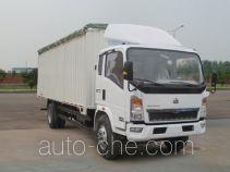 Sinotruk Howo ZZ5127CPYG4515C1 soft top box van truck