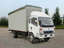 Sinotruk Howo ZZ5127CPYG4715C1 soft top box van truck
