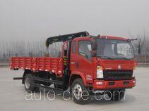 Sinotruk Howo ZZ5127JSQG451CD1 truck mounted loader crane