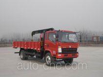 豪沃牌ZZ5127JSQG451CD1型随车起重运输车